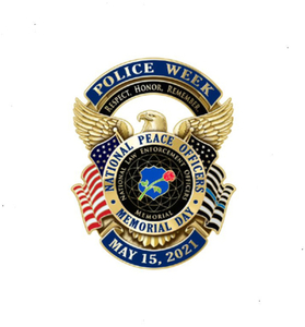 2021 National Police Week Lapel Pin